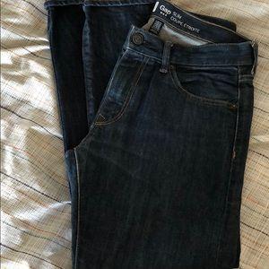 Gap slim fit jeans 30/30